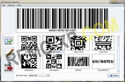Aurora 3D Barcode Generator