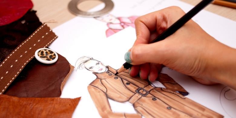 Unduh 57  Gambar Animasi Anak Tata Busana  Free
