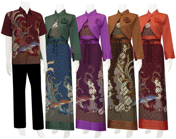 Desain Baju Batik Modern Pinasthika Artista