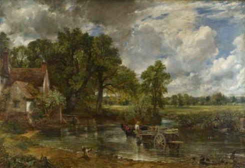 Lukisan John Constable, The Hay Wain