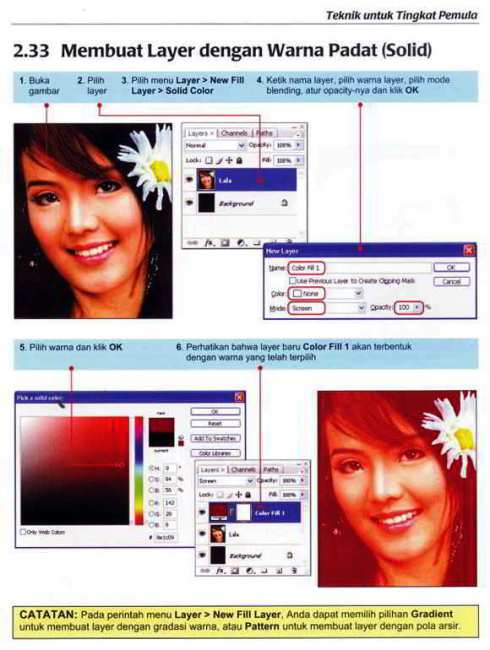 isi Buku Tutorial Photoshop Bahasa Indonesia Gratis Download